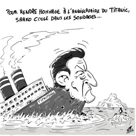 Tag Titanic Tony Gouarch Dessin De Presse