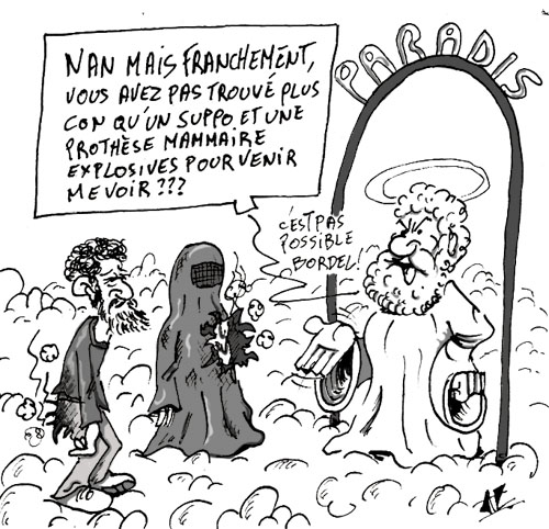 Connu Le ridicule tue - Tony Gouarch dessin de presse UV34